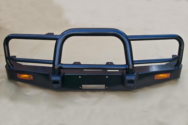 "Landcruiser 80 Series 3"" Steel Winch Bull Bar"