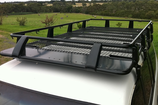 steel roof rack