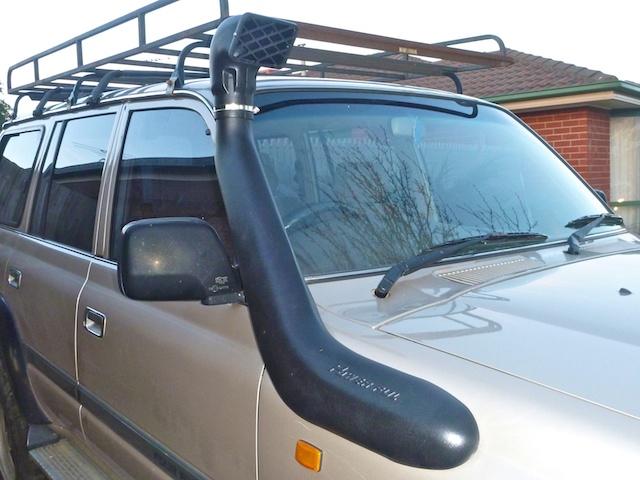 Landcruiser 80 series snorkel