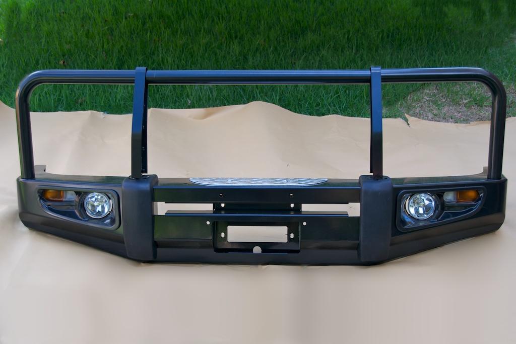 A050 Landcruiser 80 Series Steel Winch Bull Bar